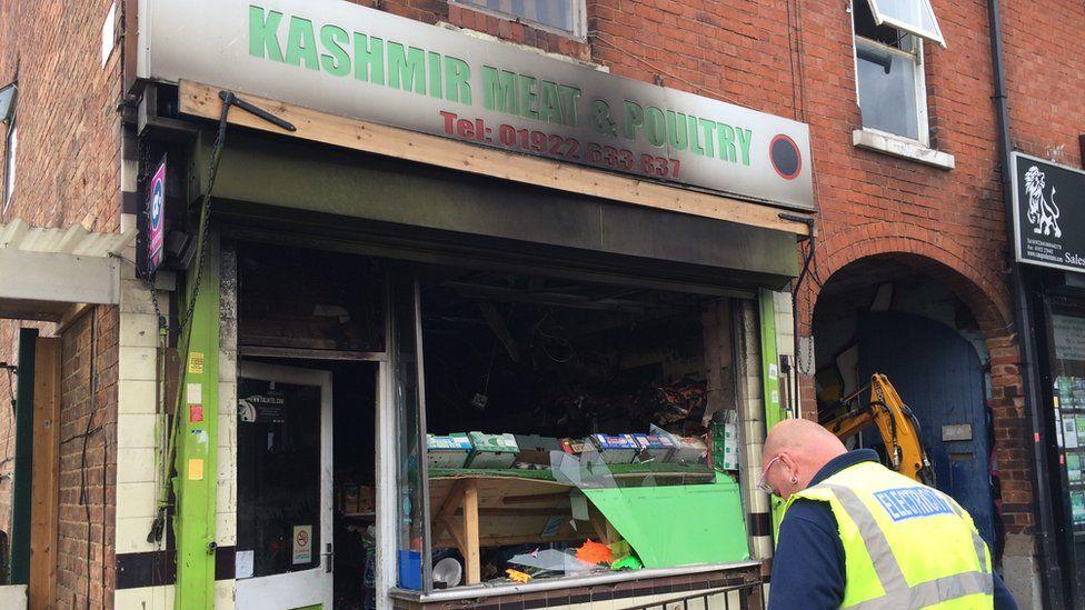 Wednesbury Road Walsall halal butcher attack