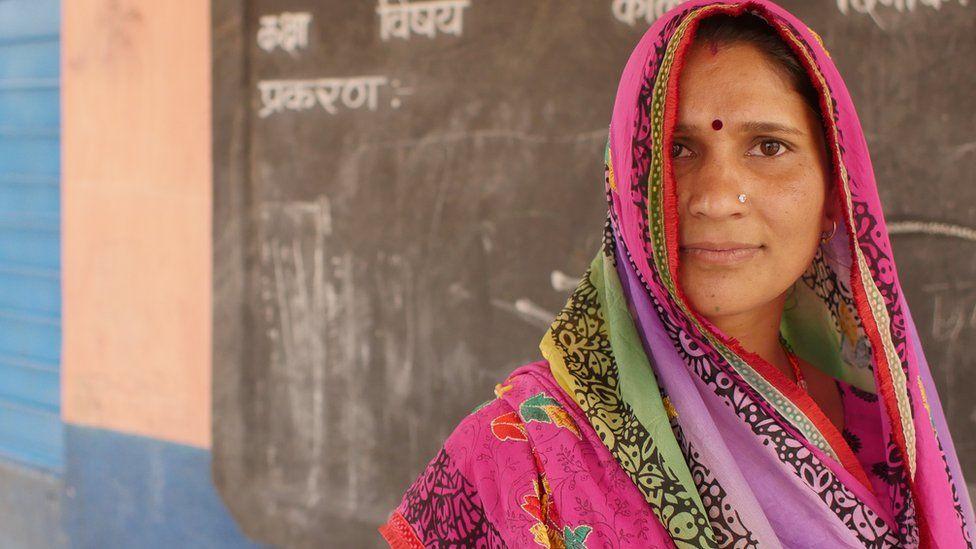 Educate Girls volunteer Meena