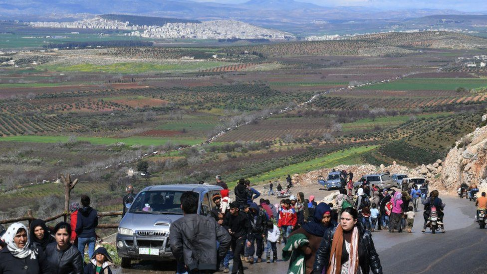 Civilians Afrin