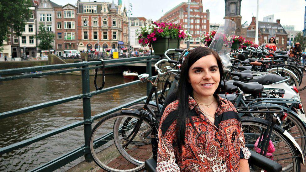 Emma in Amsterdam