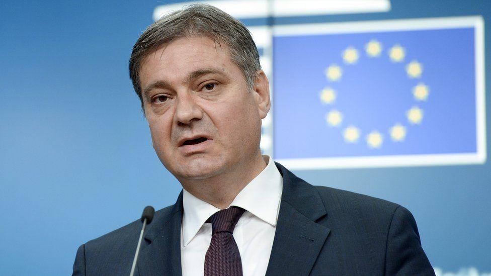 Bosnia-Herzegovina Prime minister Denis Zvizdic