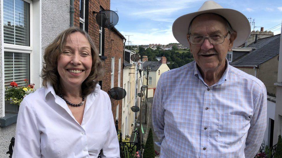 Maureen and Jim Nelis