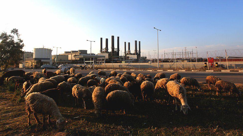 Gaza Power Plant (16 April 2017)