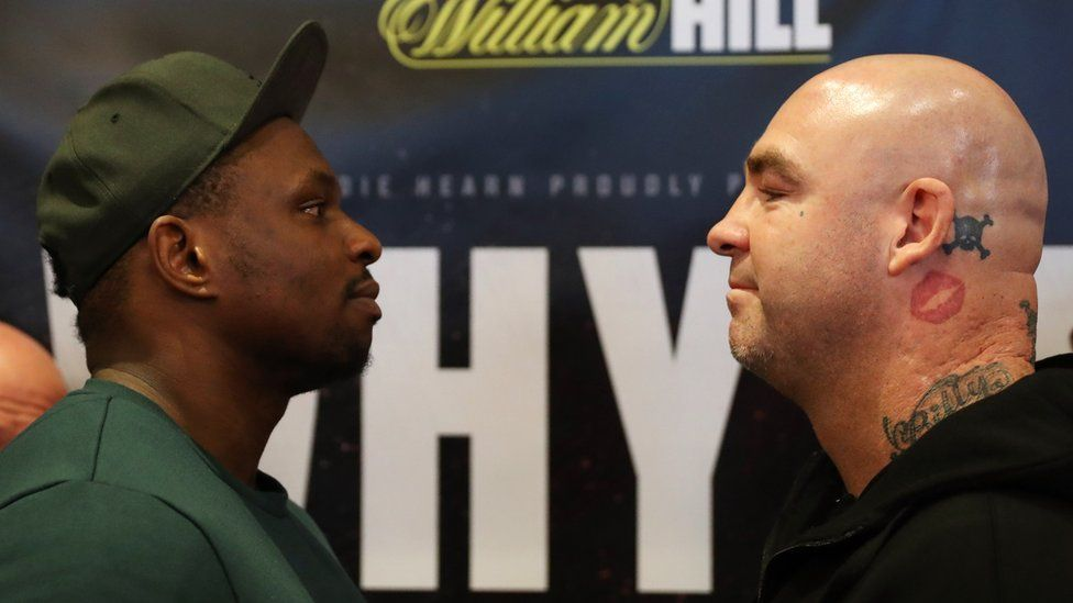 Dillian Whyte and Lucas Browne come face-to-face