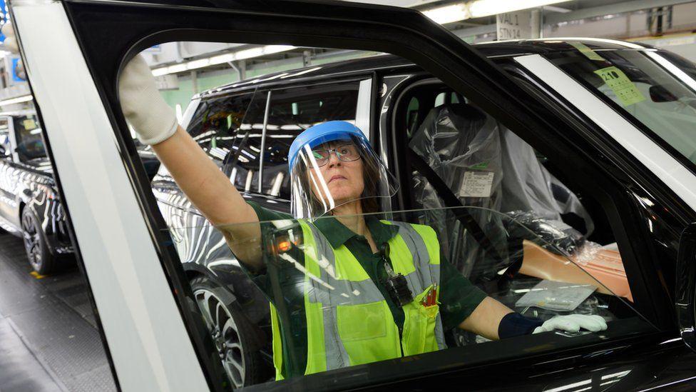 Jaguar Land Rover worker