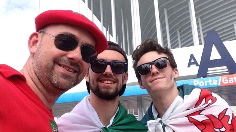 Gareth, Ifan and Tomi Owens