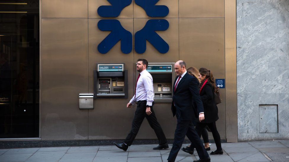 RBS has a median gender pay gap of 36.8% in its most recent data