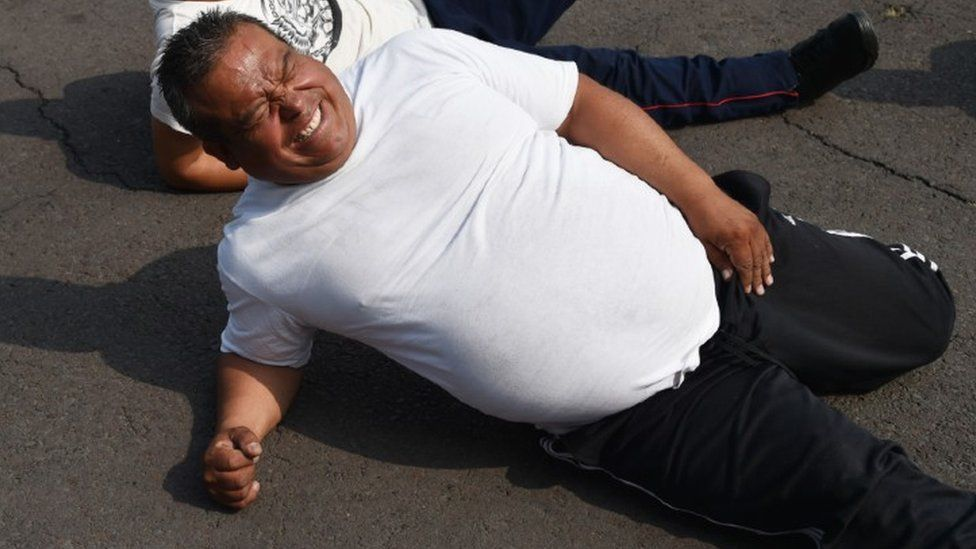 1,000 Mexico City police officers have joined a program to lose weight, improve their health and do their work more efficiently, in a country where 75% of the adults are overweight or obese.