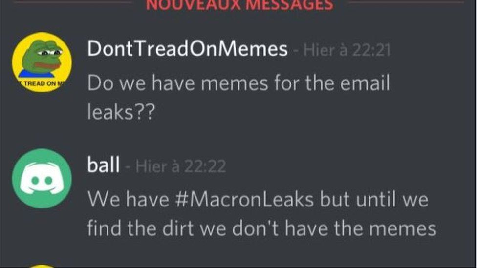 Macron Leaks: the anatomy of a hack - BBC News