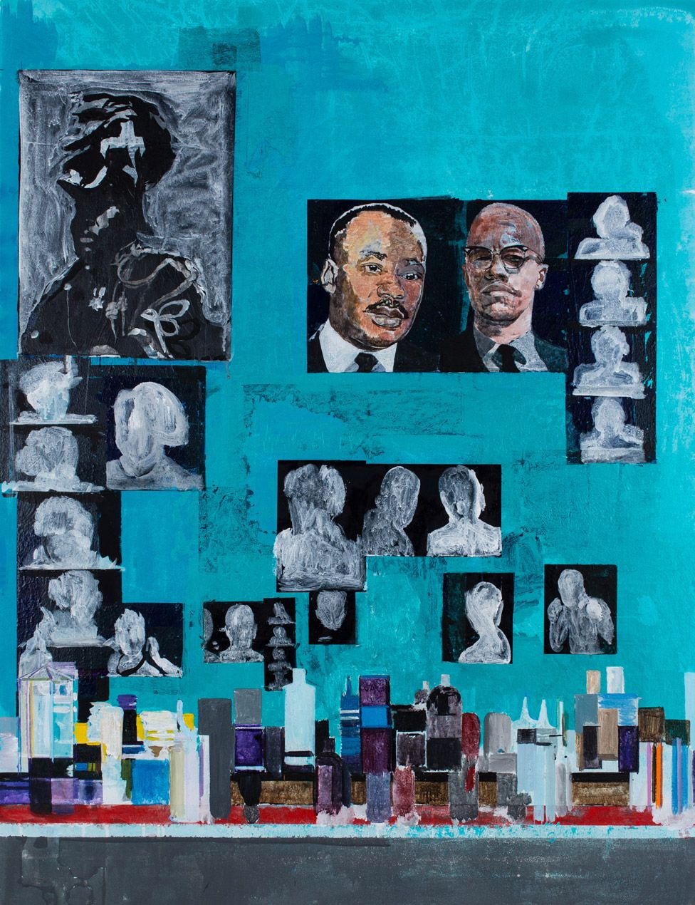 Hurvin Anderson, Is it OK to be black?, 2016