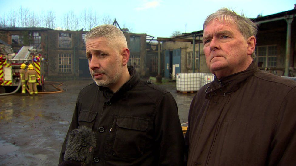 Manager Kevin Devlin and director Robert Clark said the business was still intact