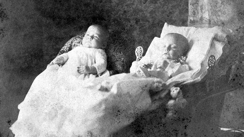 Victorian twins