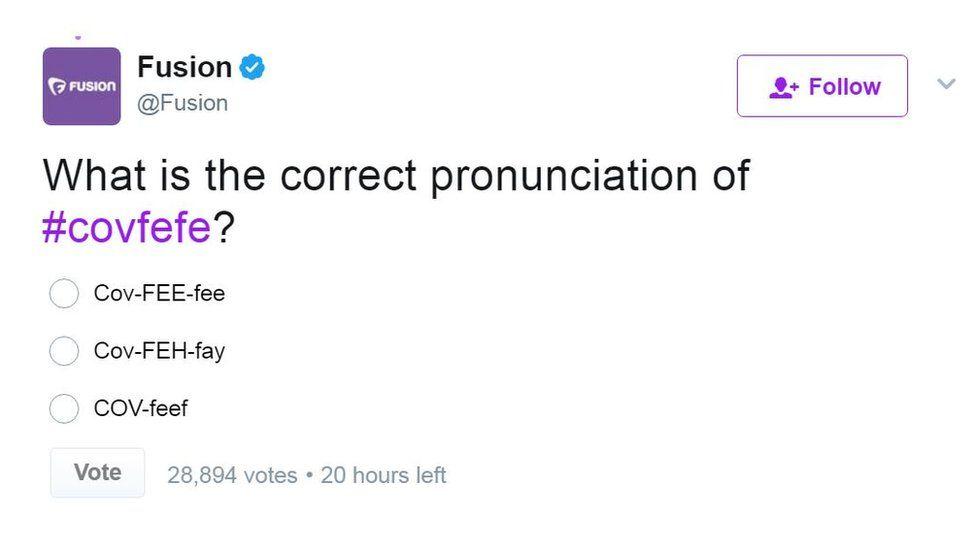 Fusion magazine ran an online poll to debate its pronunciation