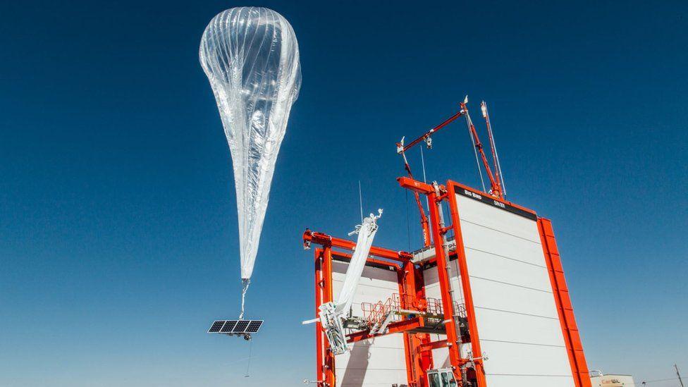 Loon balloon launching