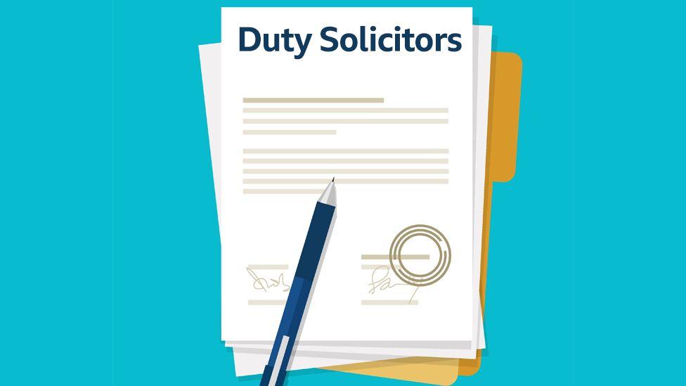 Duty solicitor illustration