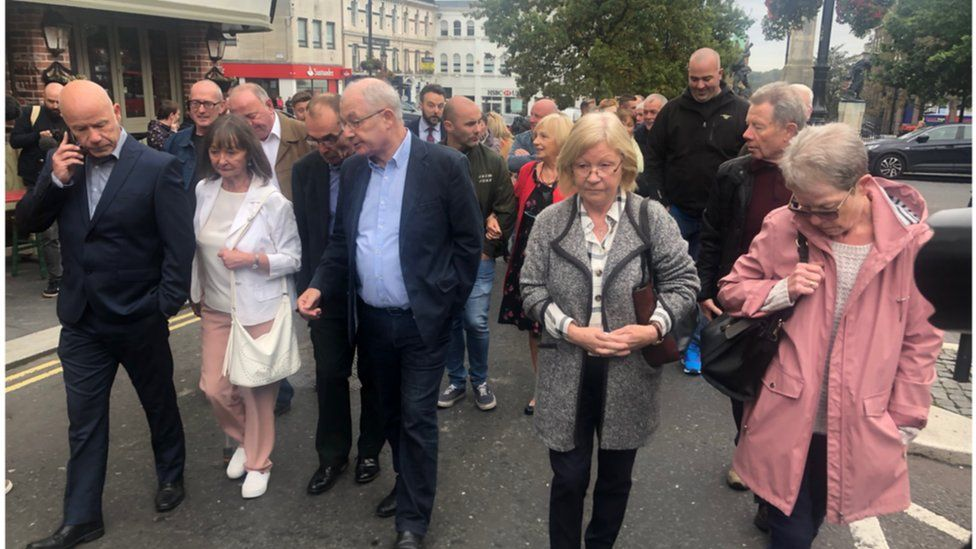 bloody sunday families going to court
