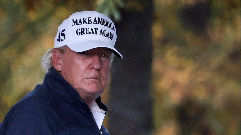 trump returns to white house after biden declared winner