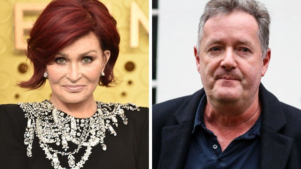 Sharon Osbourne apologises for her 'panicked' defence of Piers Morgan