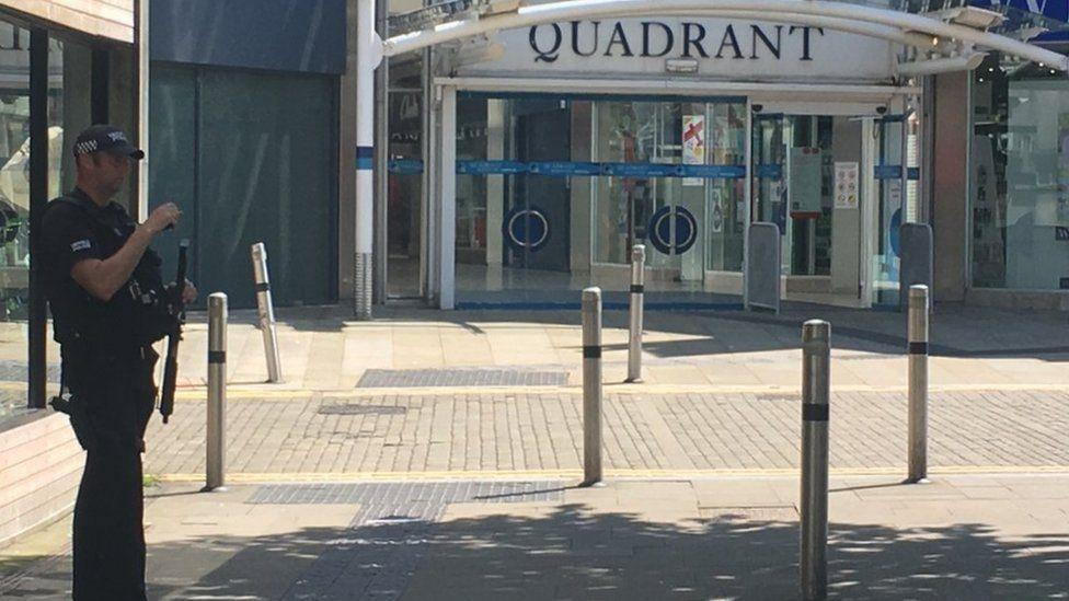Quadrant shopping centre