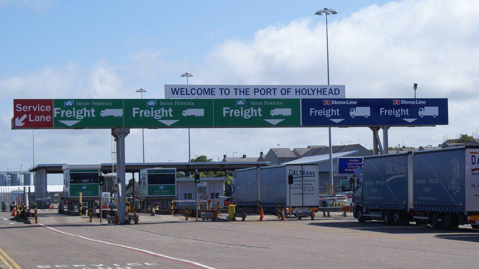Holyhead Port