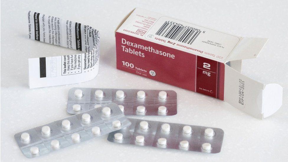 Dexamethasone in tablet form