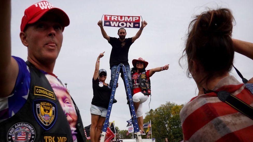 Trump supporters in Iowa