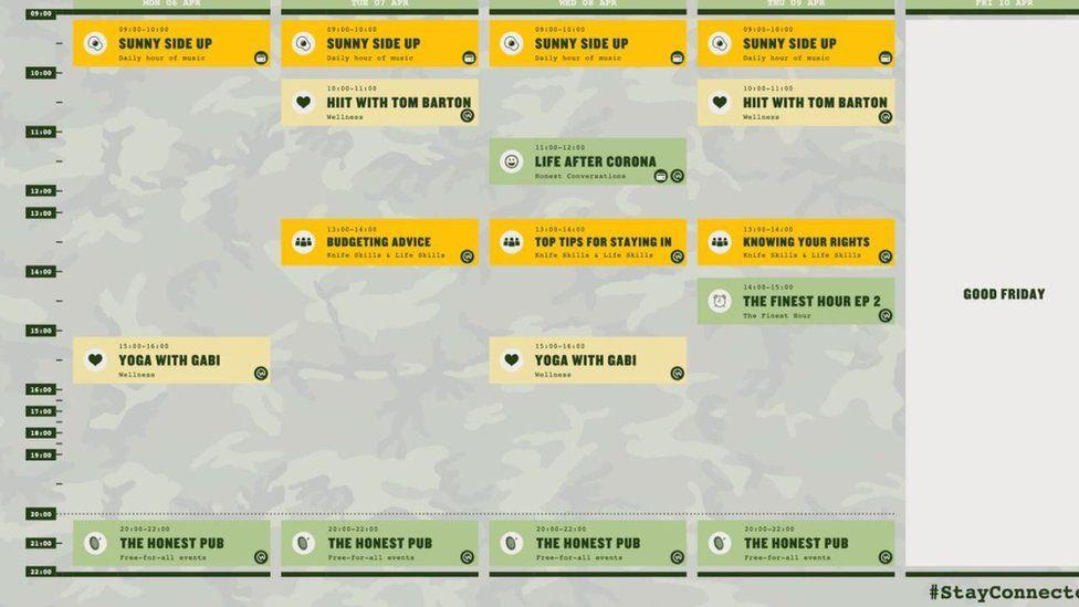Honest Burgers timetable