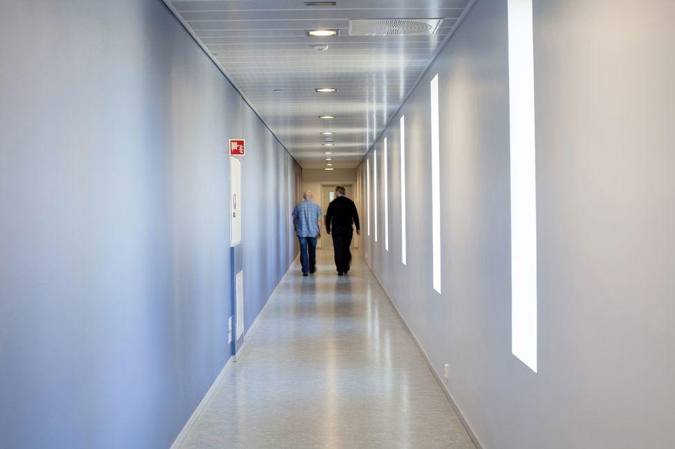 Corridor in Halden prison