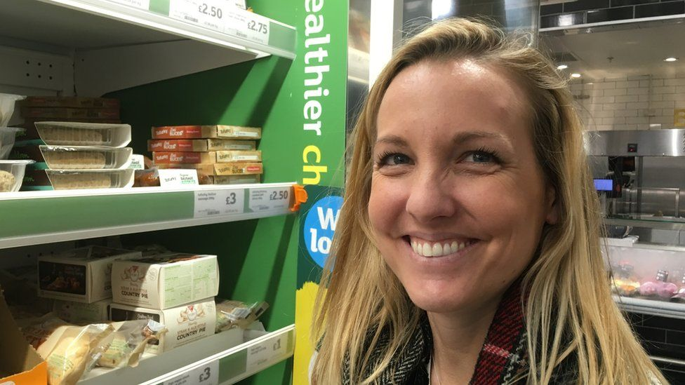 Nutritionist Charlotte Stirling-Reed said the 'healthier choices' sections of supermarkets are misleading