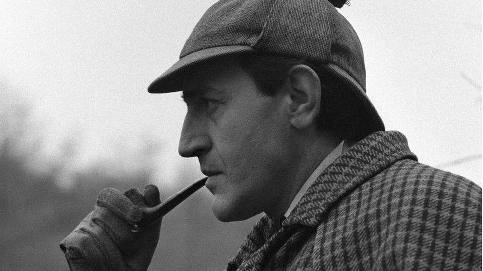 Douglas Wilmer as Sherlock Holmes in 1964