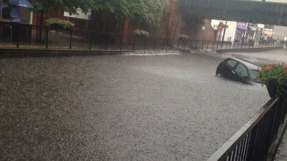 Floods in Wallington