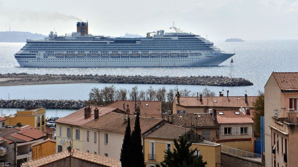 The 17-deck Costa Pacifica cost £460m when it was built in 2009