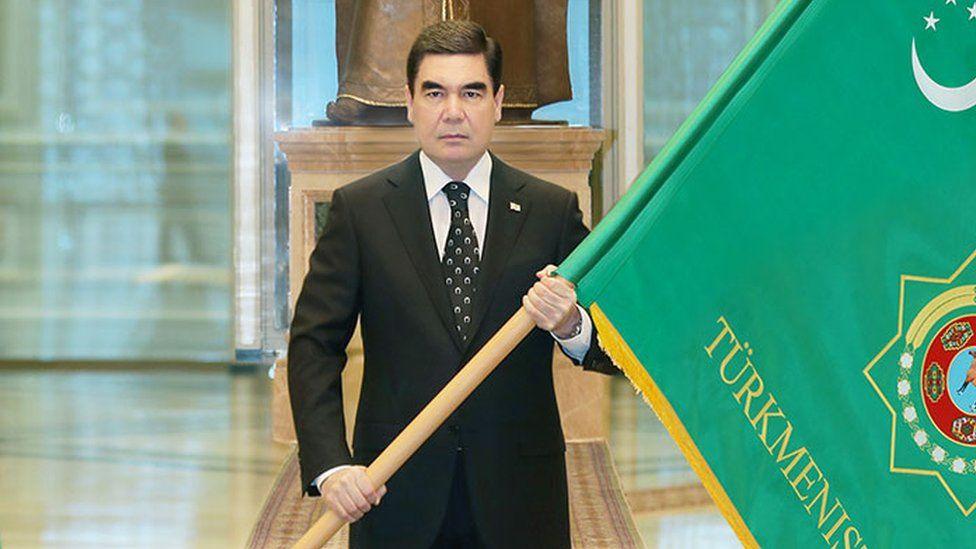 Turkmenistan President Gurbanguly Berdimuhamedov