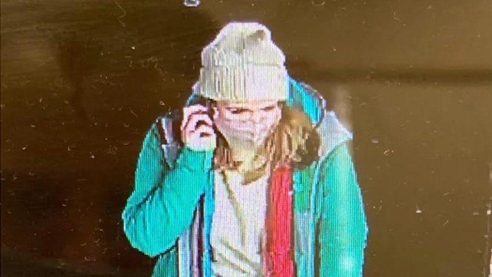 CCTV image of Sarah Everard the night she went missing