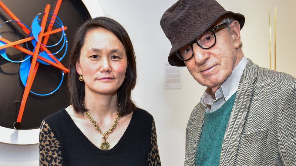 Soon-Yi and Woody Allen in 2018