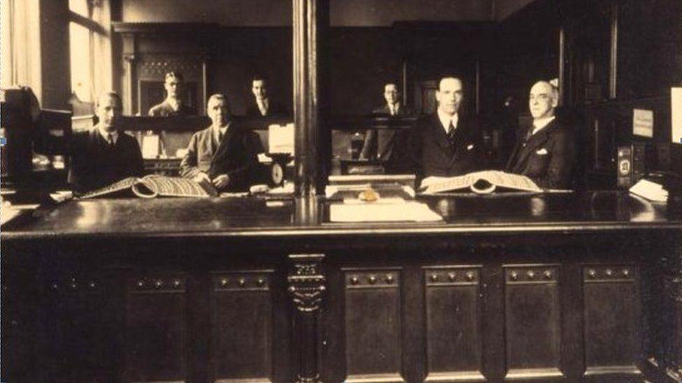 British Linen Bank, Glasgow circa 1930