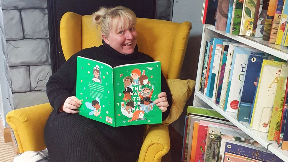 Owner Leanne Fridd at Bookbugs and Dragon Tales in Norwich