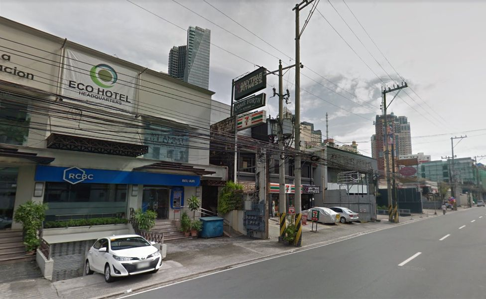 The RCBC bank on Jupiter St, Manila