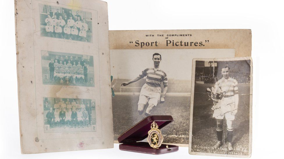 Willie Cringan Scottish Cup medal and pictures