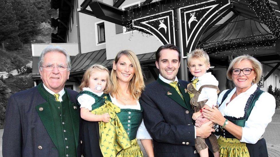 Christoph Brandstatter and family