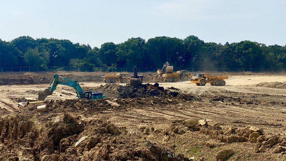 Rivenhall incinerator site