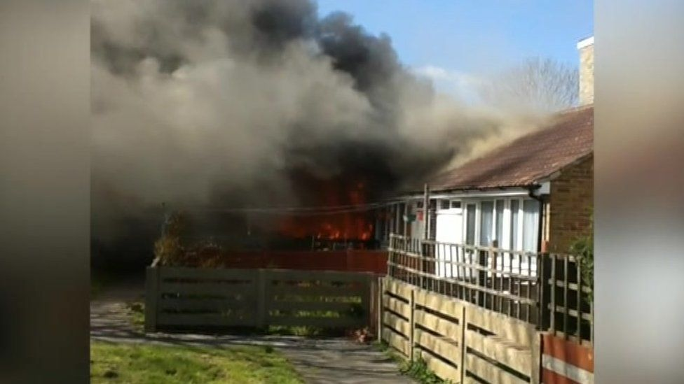 Gosport Nyria Way fire