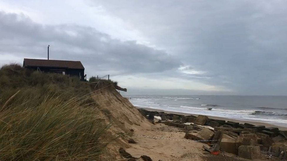 The Dunes cafe in Winterton-on-Sea