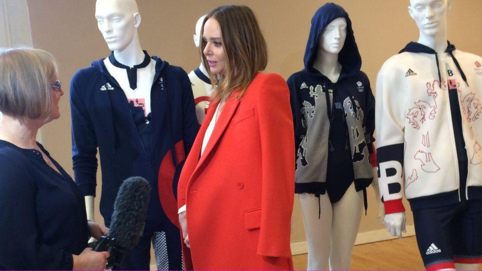 The BBC's Eleanor Oldroyd interviews Stella McCartney