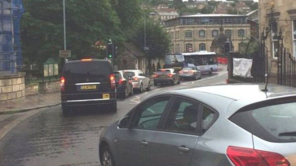 Business owners say the one-way system is killing trade in Bradford-on-Avon