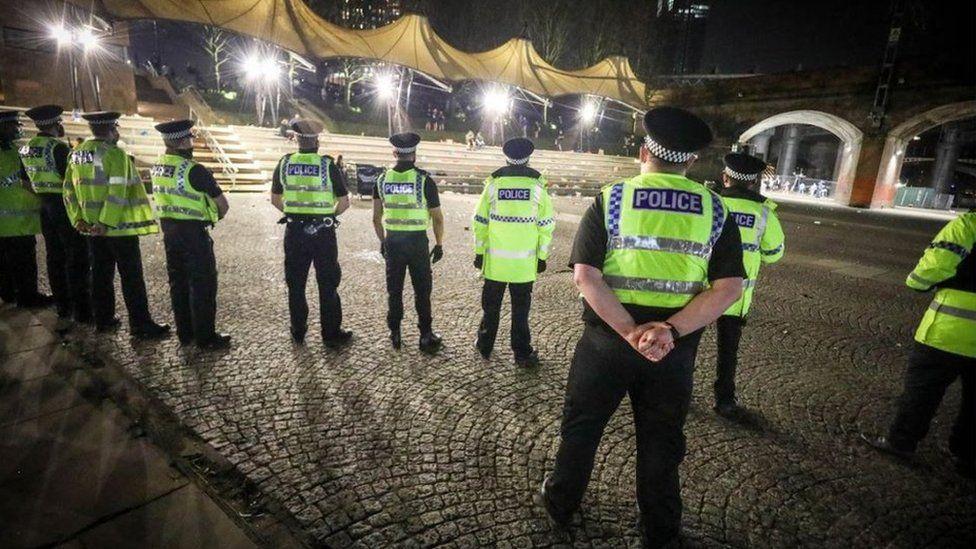 Police break up rave in Manchester