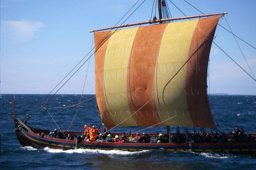 Sea Stallion Viking ship voyage, 2008