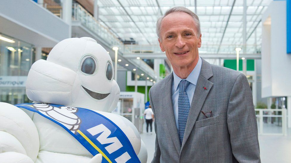 Jean-Dominique Senard, head of Michelin, September 2016