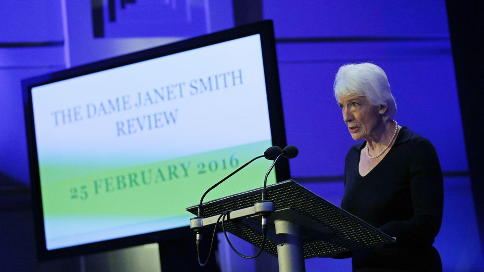 Dame Janet Smith delivers her report on Jimmy Savile at the BBC