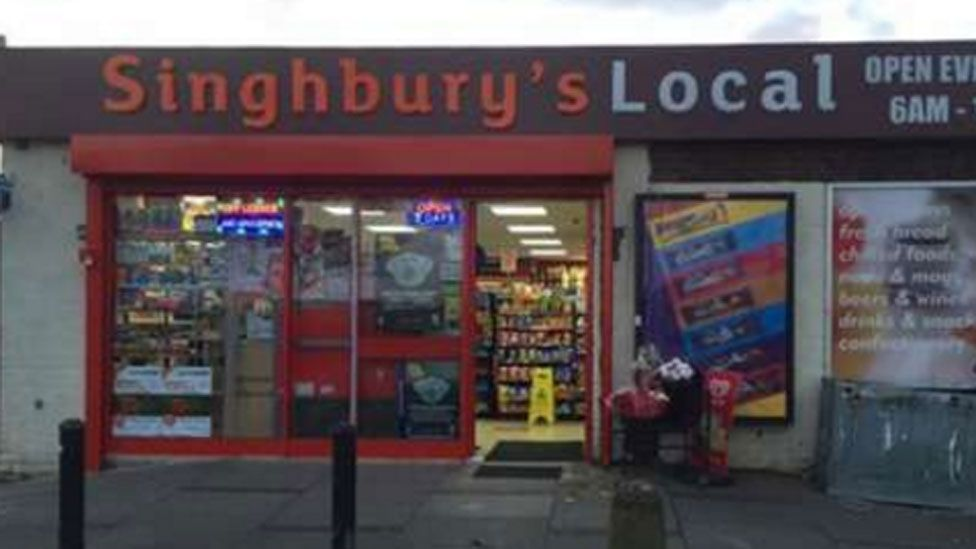 Singhbury's Local shop